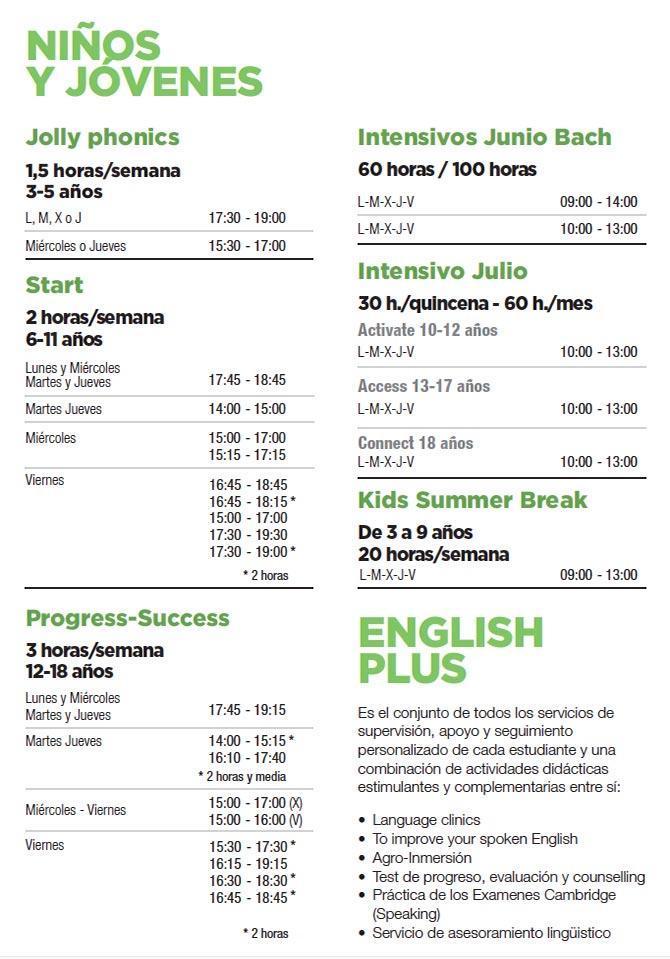 cursos de ingles en Bilbao