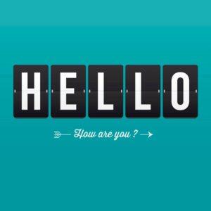 Diferentes formas de saludar en inglés