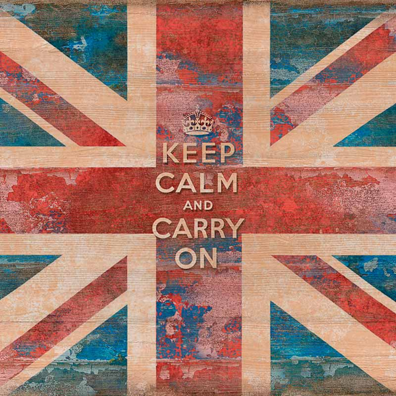 La historia de Keep calm and carry on