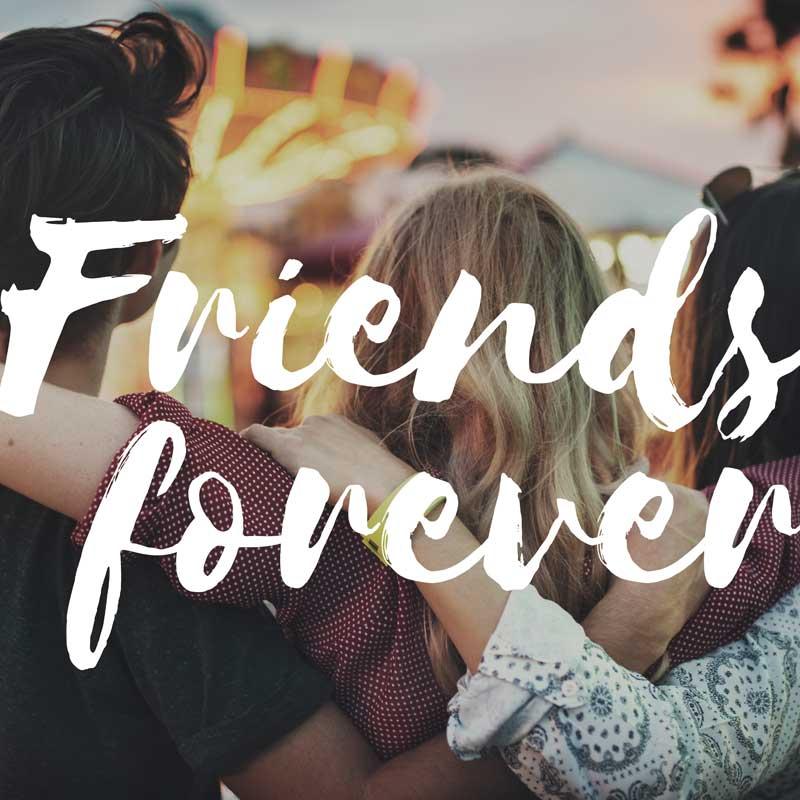 Canciones épicas en inglés en honor a la amistad
