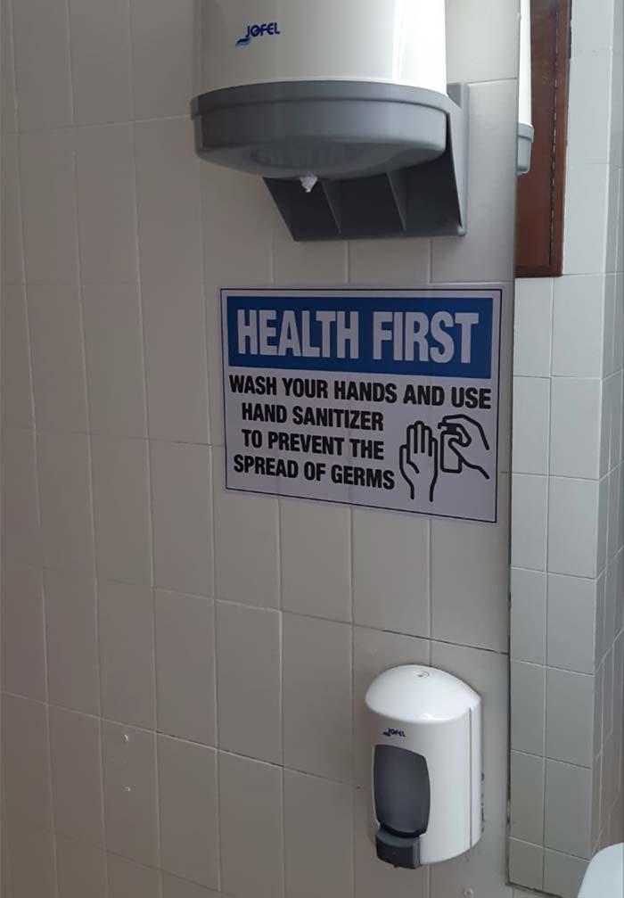 Decálogo de seguridad frente al Covid: higiene de manos
